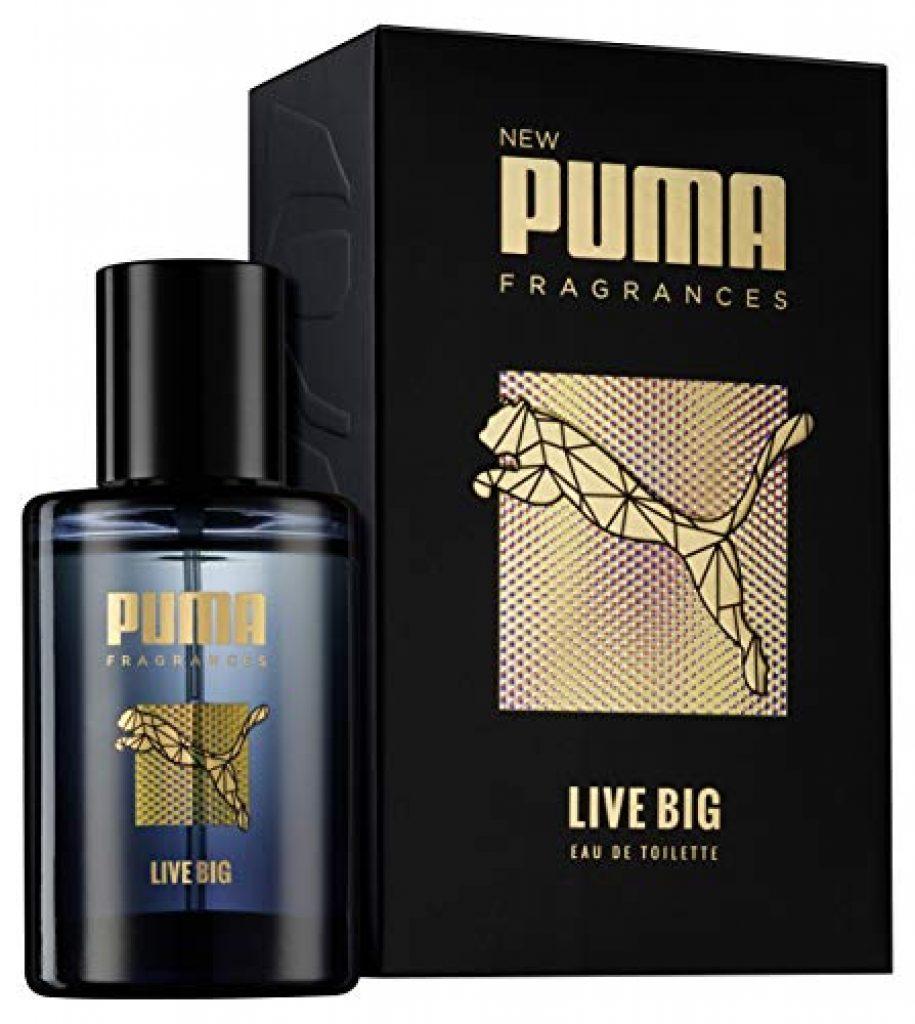 puma eau de toilette natural spray vaporisateur live big 50 ml